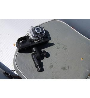 Platformă 164 * 68 mm pentru instalare sonar și a altor echipamente cu un mecanism de înclinare și rotire SSt223