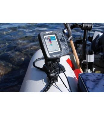 Platforma 100 * 100 mm pentru instalarea unui sonar și a altor echipamente cu mecanism rotativ Sl223
