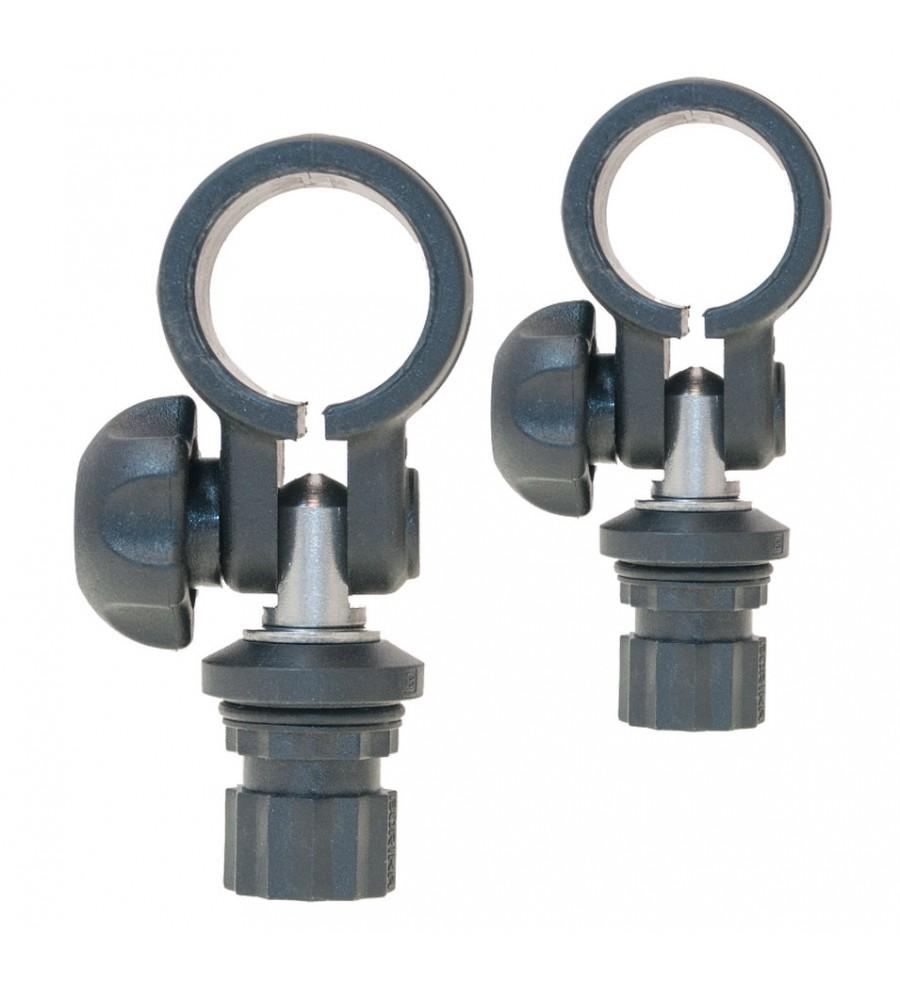 Clemă cu adaptor pentru țeavă Ø 32 mm, 2 buc, RI032-2