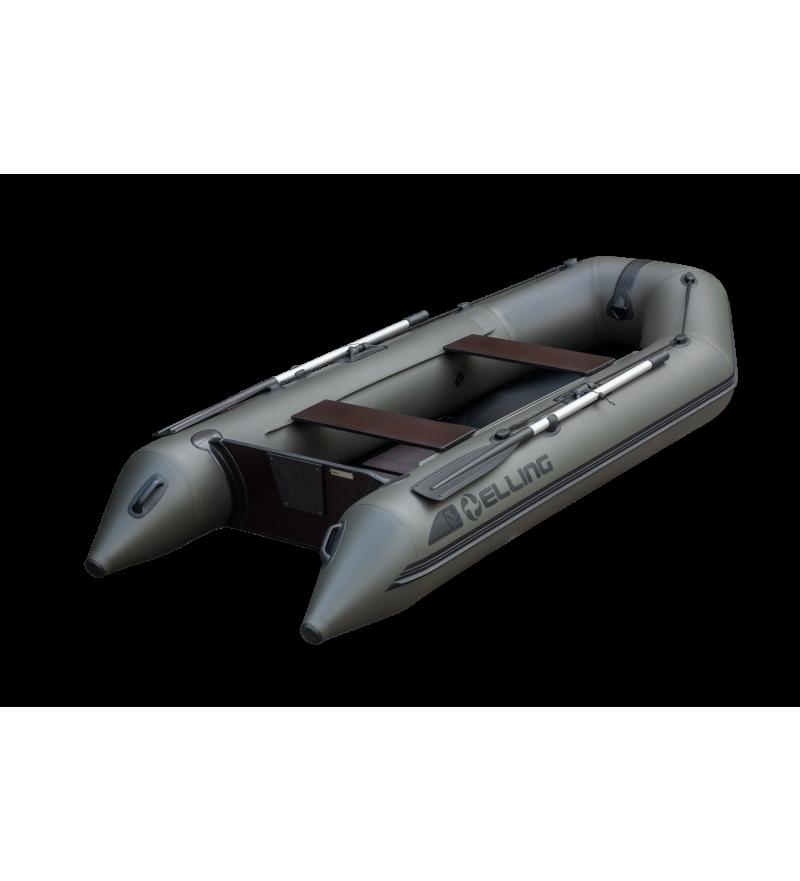 ELLING Forsage 270 - Barca gonflabila termosudata, cu bordura antival si banda cauciuc 4mm, montata sub baloane pentru protectie la intepaturi in zona de contact cu solul