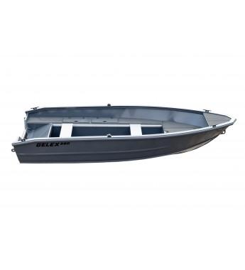 Barca aluminiu complet sudata G390 consola comanda la distanta + motor Parsun 20AFWL ( 20CP )