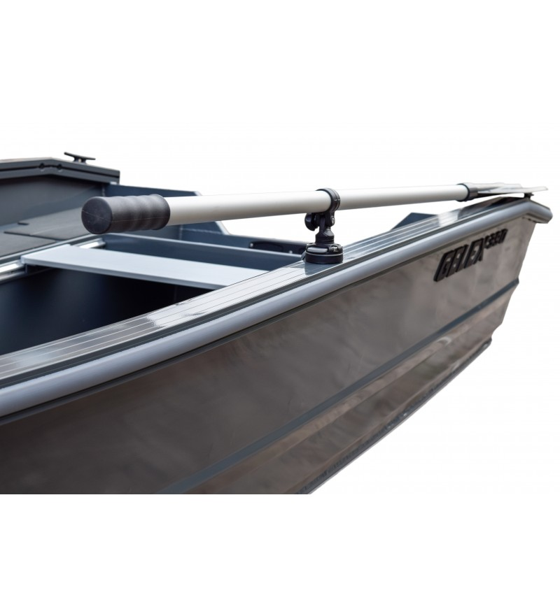 Barca aluminiu complet sudata Gelex G390 ( placa motor pentru cizma lunga )