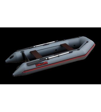 ELLING Patriot 290K - Barca pneumatica cu chila in ,,V,, termosudata, cu bordura antival si banda cauciuc 4mm, montata sub baloane pentru protectie la intepaturi in zona de contact cu solul