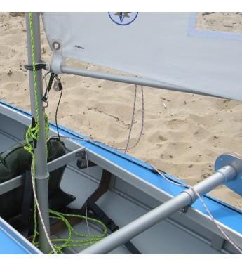 Vela navigatie caiac , 5m2, catarg fix
